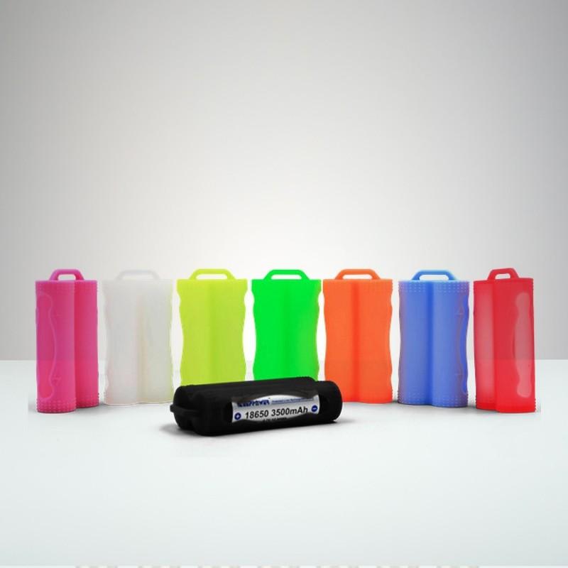 Silikon Case For Två 18650 Batterier