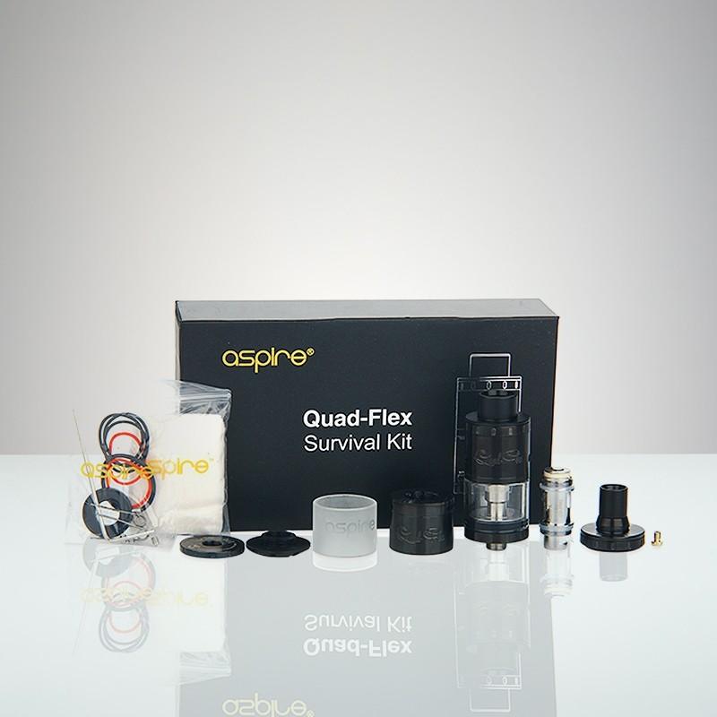 Aspire Quad-Flex Power Pack - Black