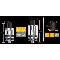 Atlantis EVO Extended Tank Kit med 4ml ersättnings tub