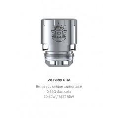 V8 Baby RBA Coil