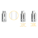 Lemo 3 Atomizer With RTA Base - Silver