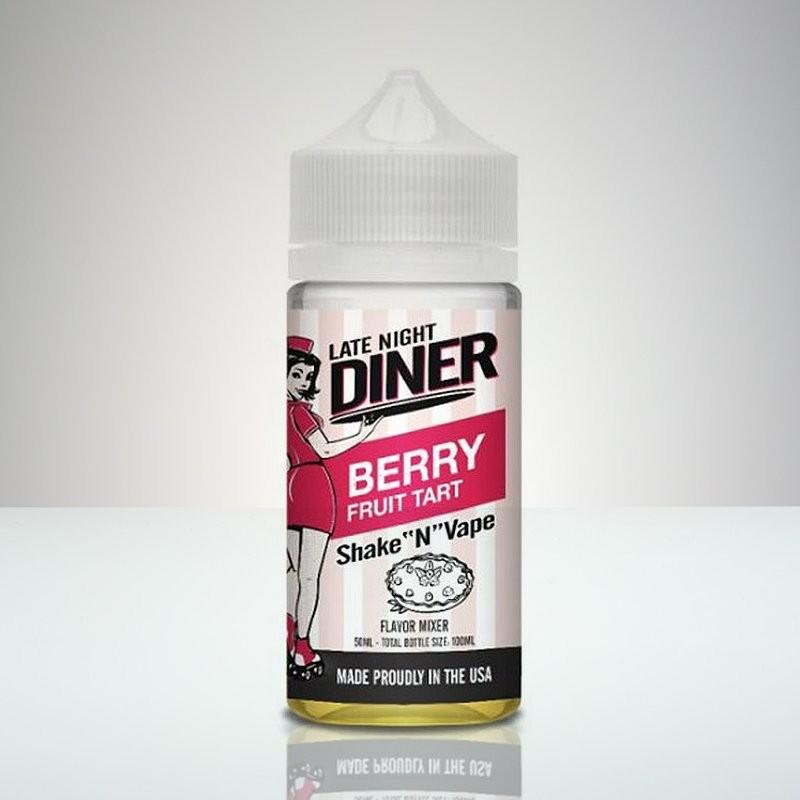 Late Night Diner - Berry Fruit Tart - 50ml
