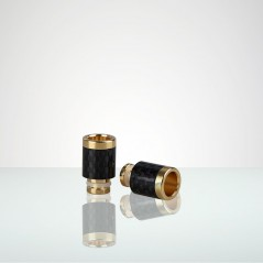 DELUX Guld eller Titanfärgat munstycke i högsta kvalité